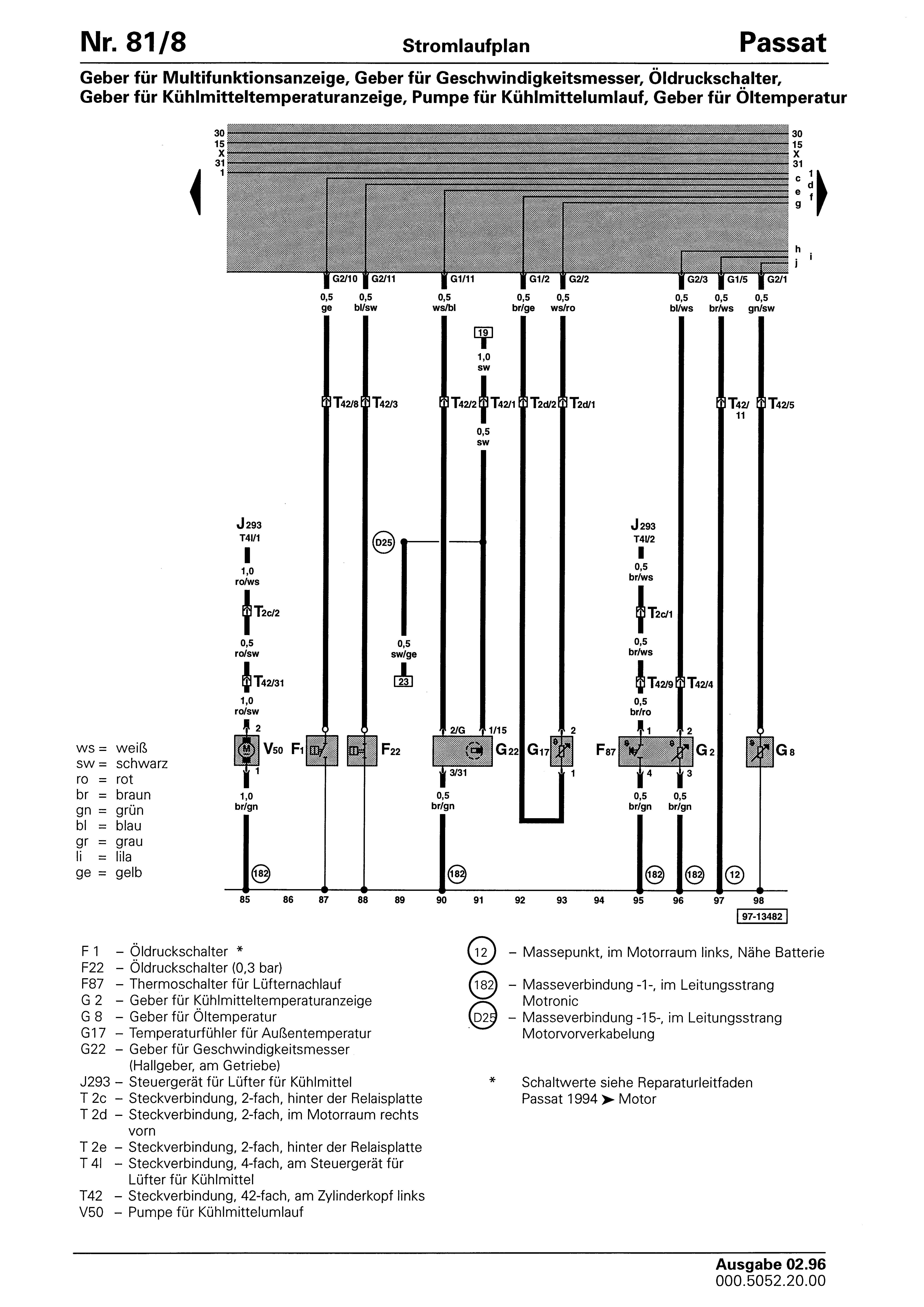 Hallgeber G40 (Nockenwellensensor VR6)